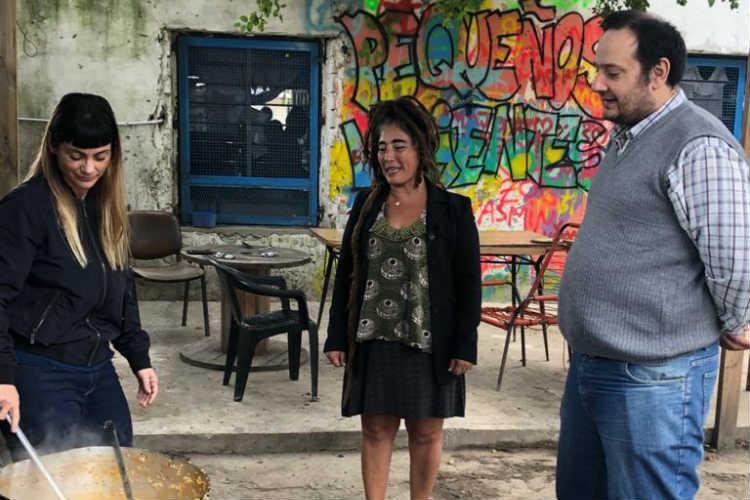 Aysa realizó obras de red de agua potable y conectó a los vecinos del barrio El Claro en Benavídez