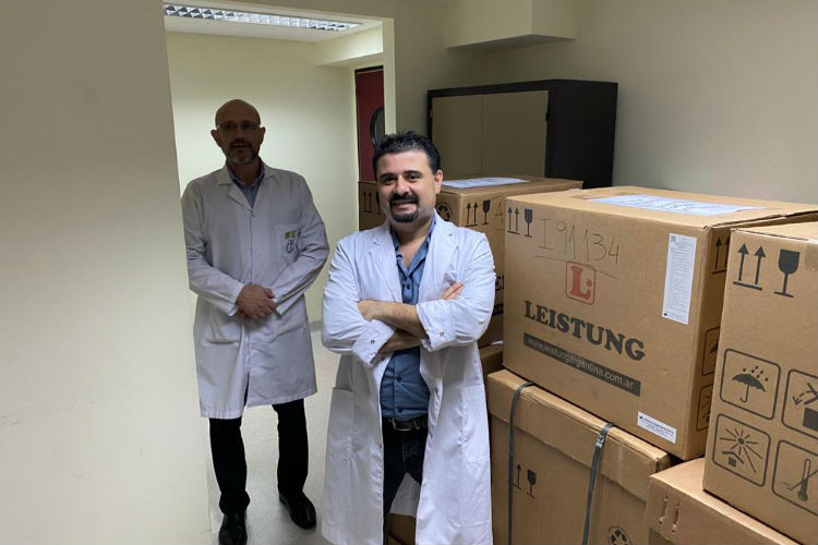El Gobierno de la Provincia entregó insumos y equipamiento al Hospital de San Fernando