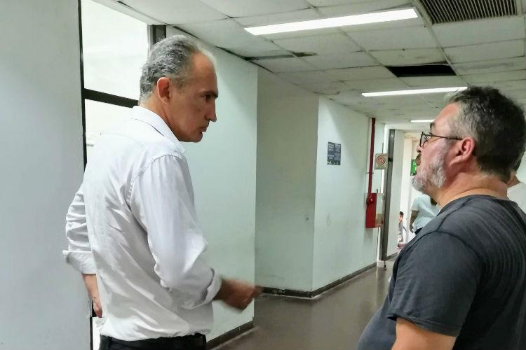 La Fundación del Hospital Cordero agradeció la donación del intendente Juan Andreotti