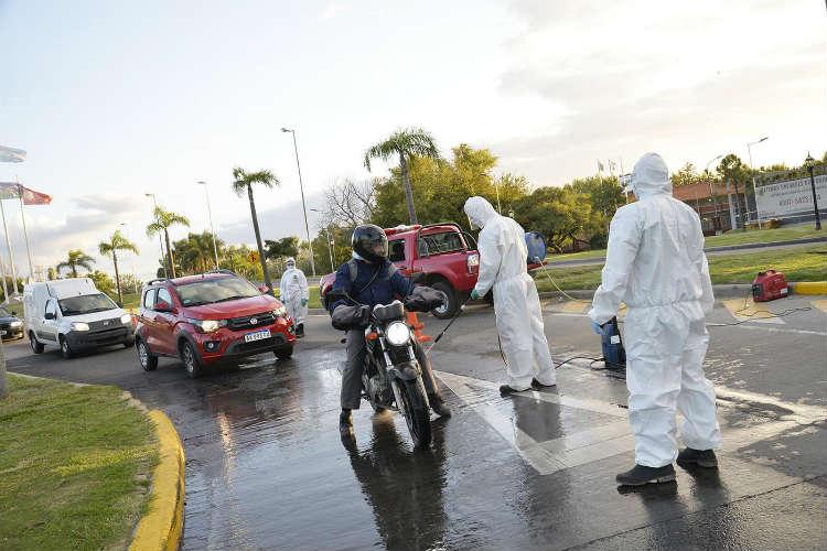 Coronavirus: Tigre continúa con los controles vehiculares en los accesos al distrito