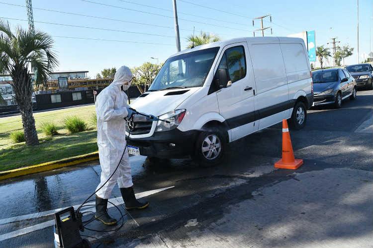 Tigre continúa con los controles vehiculares en los accesos al distrito - coronavirus