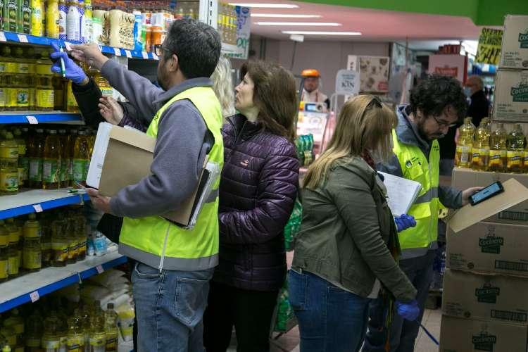 Control de precios en comercios de Vicente López