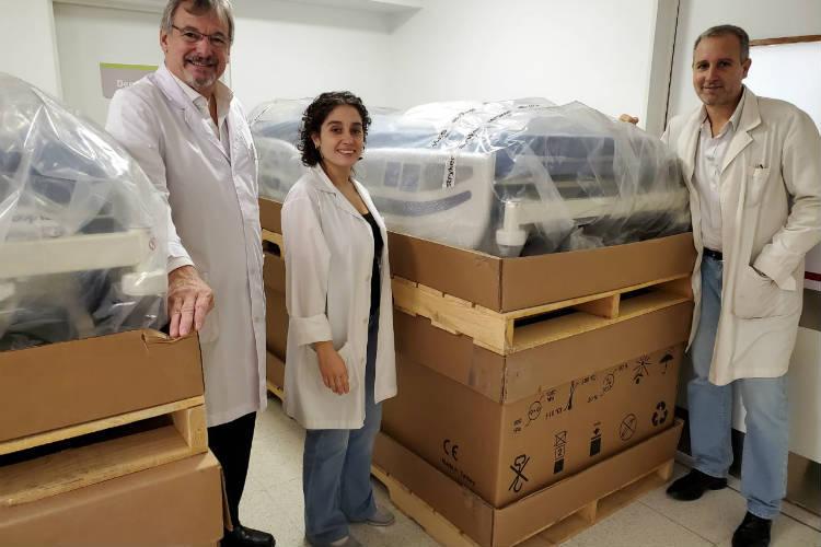 Entregan insumos y equipamiento al hospital Cetrángolo de Vicente López