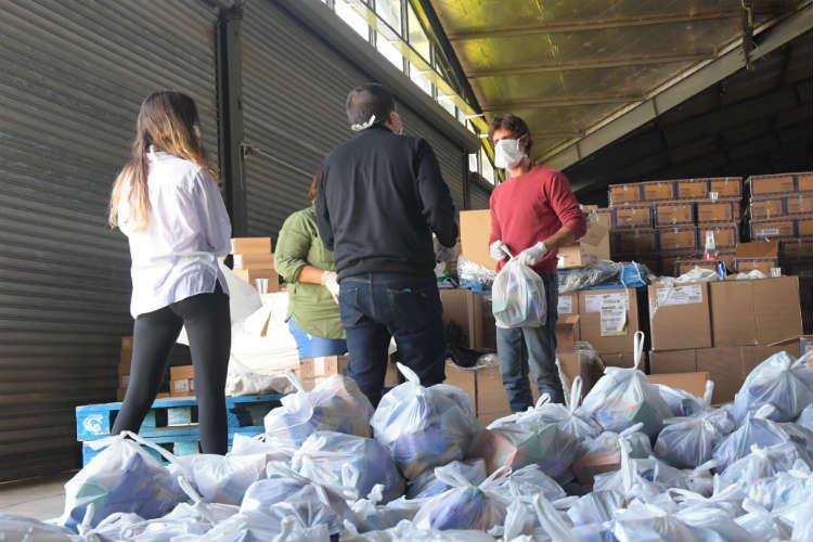 San Fernando refuerza su Programa Alimentario Municipal con importantes donaciones de empresas