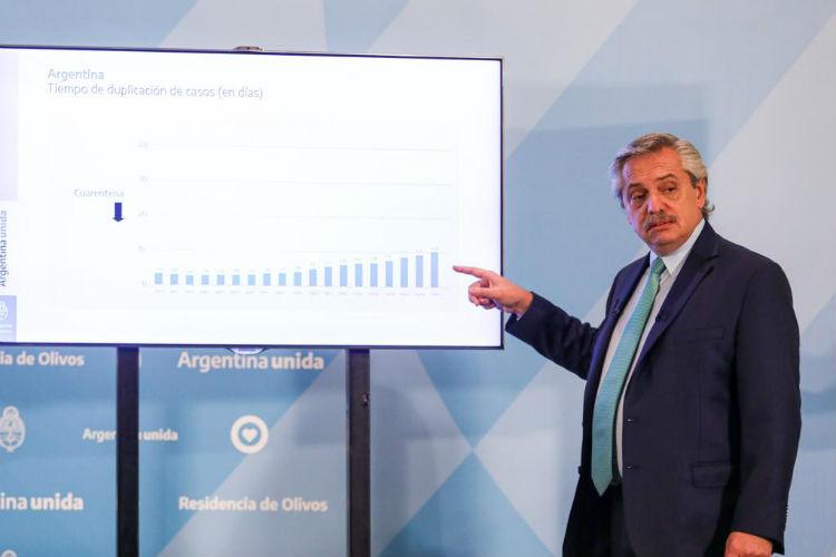Alberto Fernández anunció la extensión de la cuarentena obligatoria