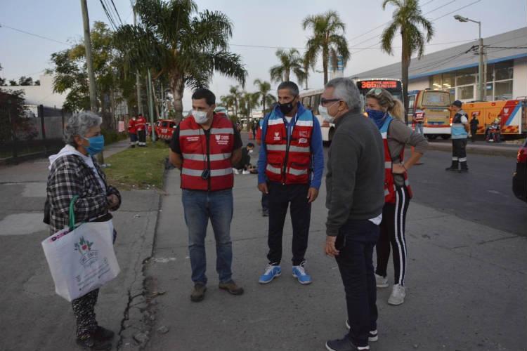 Julio Zamora supervisó un nuevo operativo de control vehicular en Tigre