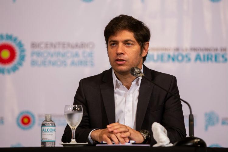 Kicillof destacó el apoyo de todos los intendentes para la renegociación de deuda pública bonaerense