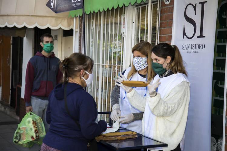 El municipio de San Isidro entregará 120 mil barbijos caseros
