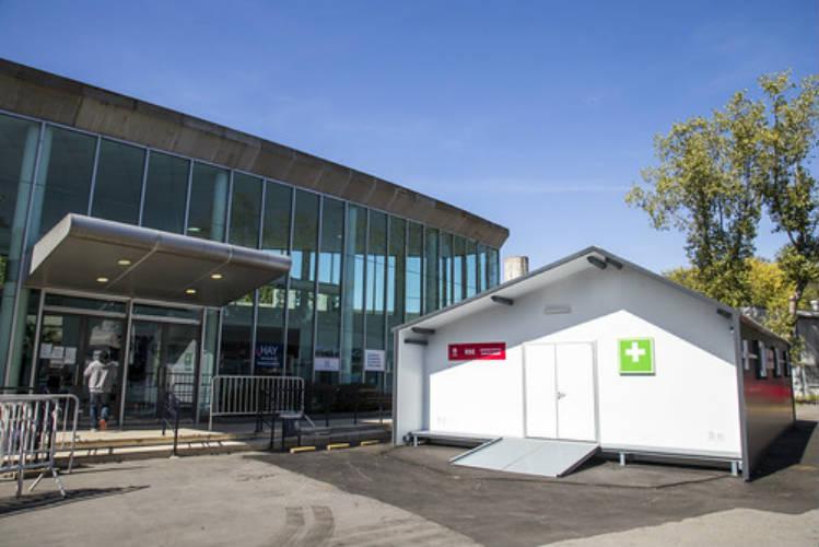 Nuevo módulo sanitario en el hospital de Boulogne
