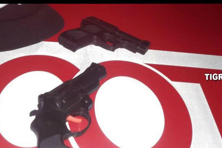 Don Torcuato: Las cámaras de Tigre detectaron a sujetos con réplicas de armas de fuego