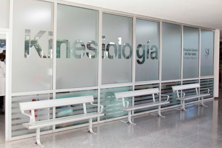 Cómo es el sector de relajación para los médicos del Hospital Central de San Isidro