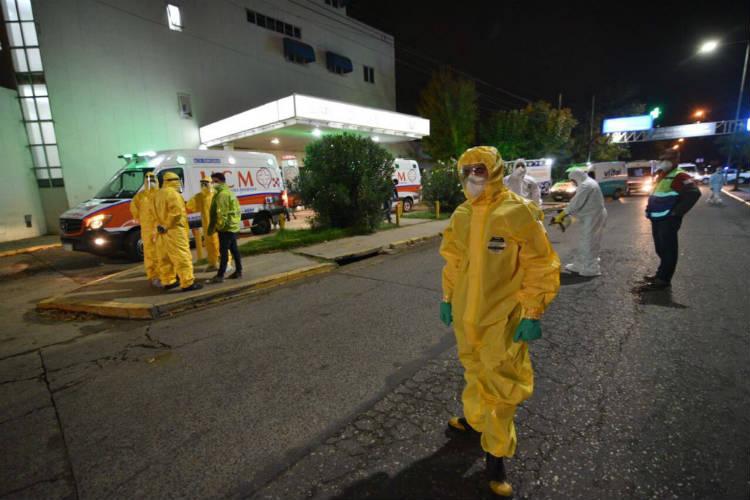 Trasladan los pacientes de la Clínica San Carlos de Escobar tras conocerse 23 casos de Coronavirus