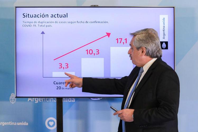 Alberto Fernández confirmó que la cuarentena sigue hasta el 10 de mayo