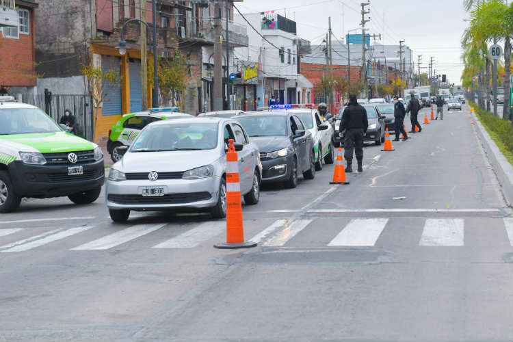 Ya son 1108 las detenciones en los controles de seguridad en San Fernando