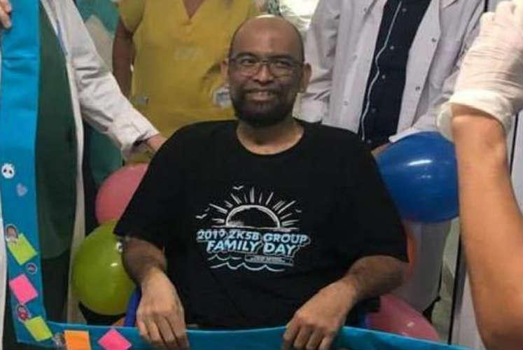 Vicente López: dan de alta a un paciente Malayo que venció al coronavirus