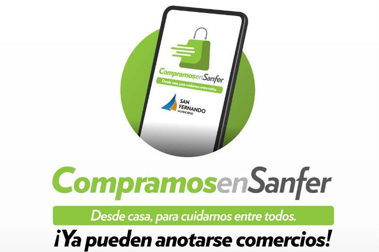San Fernando lanzó una plataforma online para ayudar a comercios y vecinos