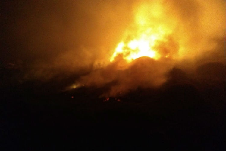 Un avión sanitario que partió de San Fernando se estrelló en Esquel
