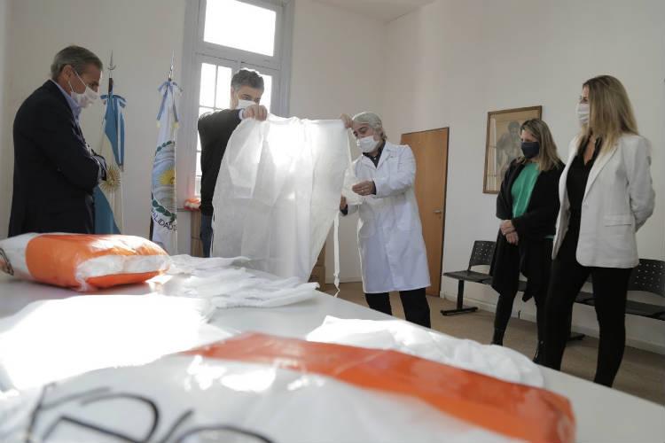 Vicente López recibió donaciones para el Hospital Houssay