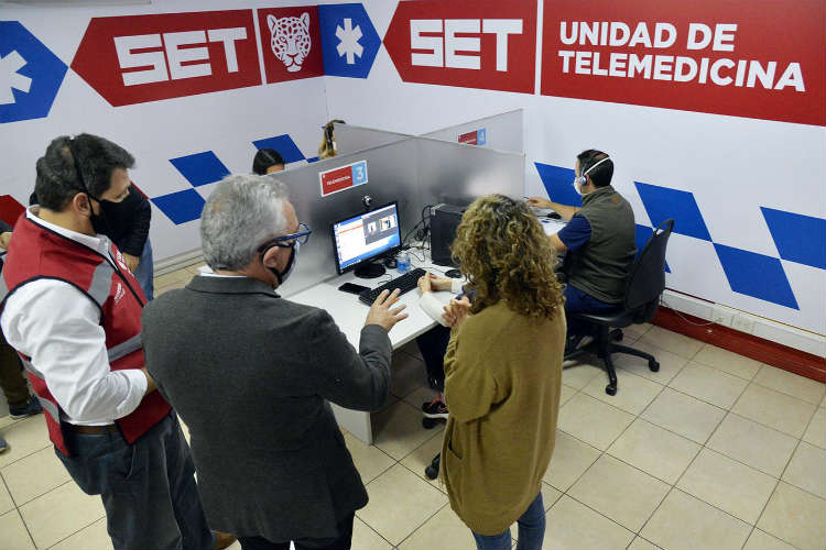 Julio Zamora presentó un servicio de Telemedicina para atención de vecinos de Tigre