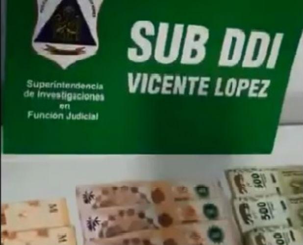 La investigación comenzó hace tres meses y estuvo a cargo de la DDI San Isidro y Sub-DDI de Vicente López sobre una organización delictiva dedicada al narcomenudeo en el barrio de emergencia Villa Borges de Vicente López.