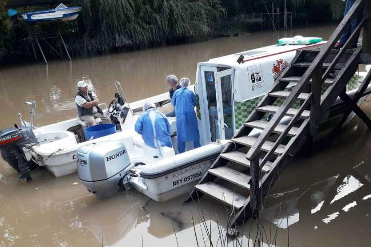San Fernando continúa con los operativos de Salud en el Delta