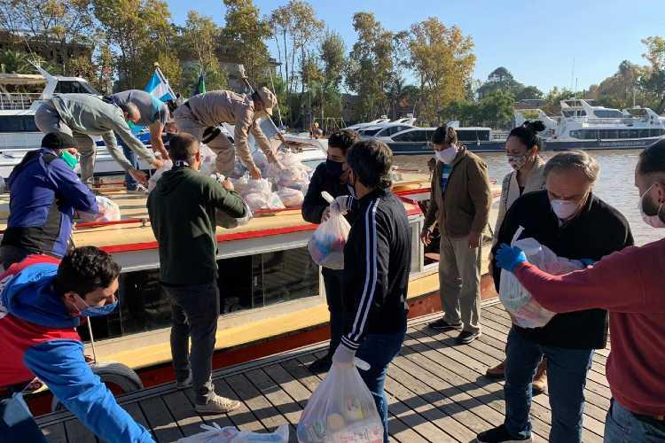 Nueva entrega de productos del Servicio Alimentario Escolar para el Delta de Tigre