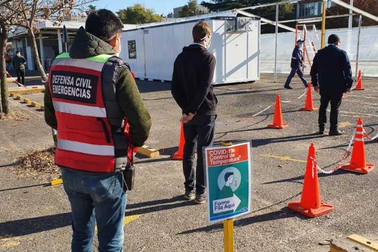 Tigre inspecciona el cumplimiento de protocolos de distanciamiento social, sanitización e higiene en industrias de la ciudad
