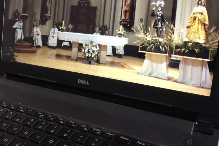 Más de 20 mil personas siguieron por las redes la misa en honor a San Isidro Labrador