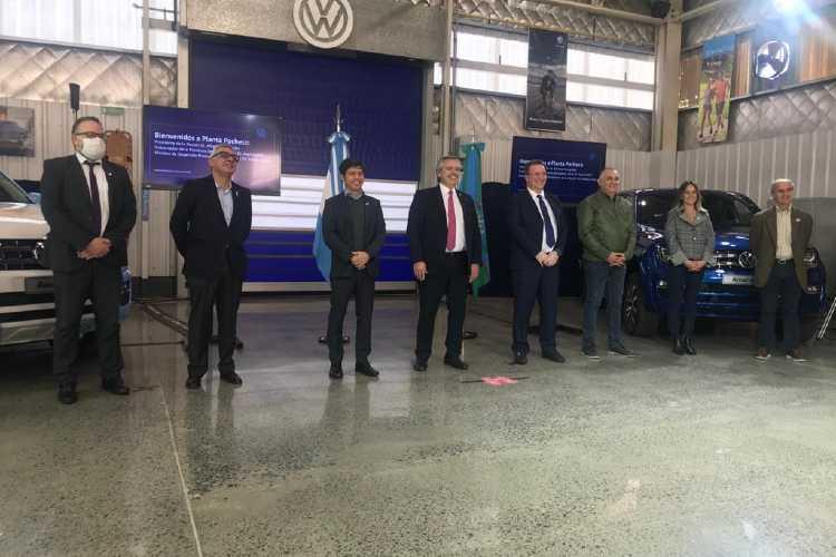 """Julio Zamora destacó que la reapertura de Volkswagen """"permitirá reactivar la economía"""""""