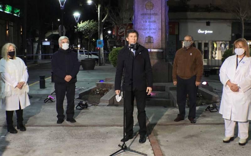 San Isidro celebró el 25 de Mayo con un vigilia Online