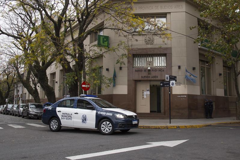 Coronavirus en San Isidro: desde el patrullaje municipal concientizan a los vecinos