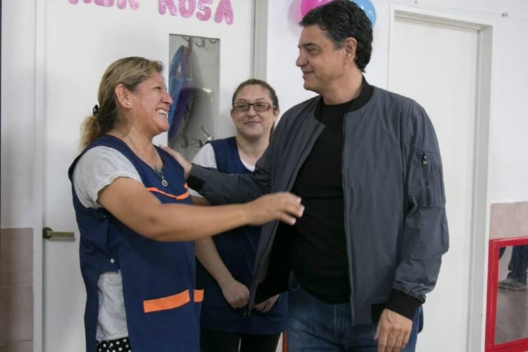 El Municipio de Vicente López saluda y agradece a las maestra jardineras en su día