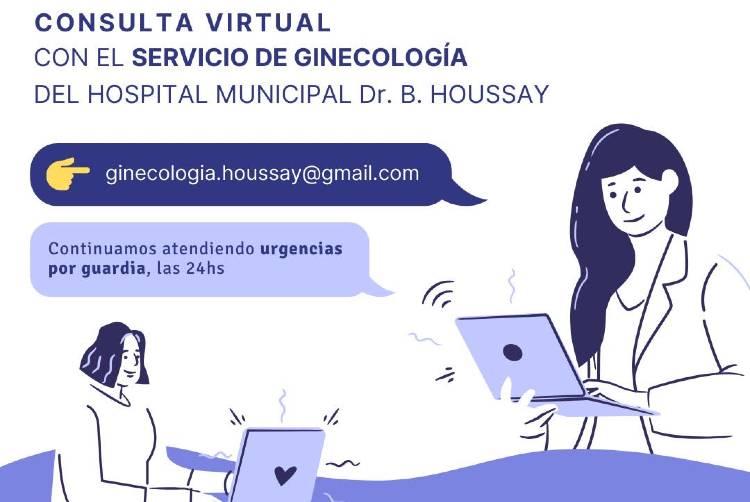 Vicente López habilitó consultas ginecológicas virtuales