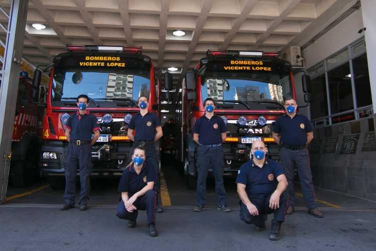 Jorge Macri destacó el trabajo de los bomberos voluntarios de Vicente López