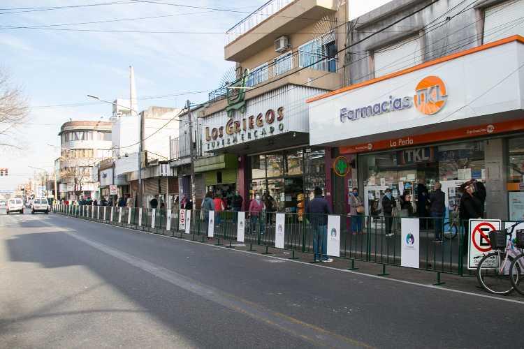 Vicente López amplió el espacio de circulación peatonal en dos puntos del centro comercial de Munro