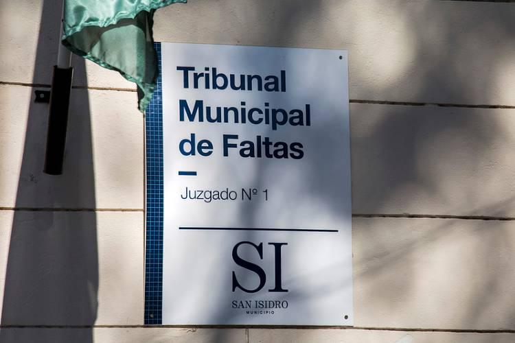 Juzgado de faltas San Isidro