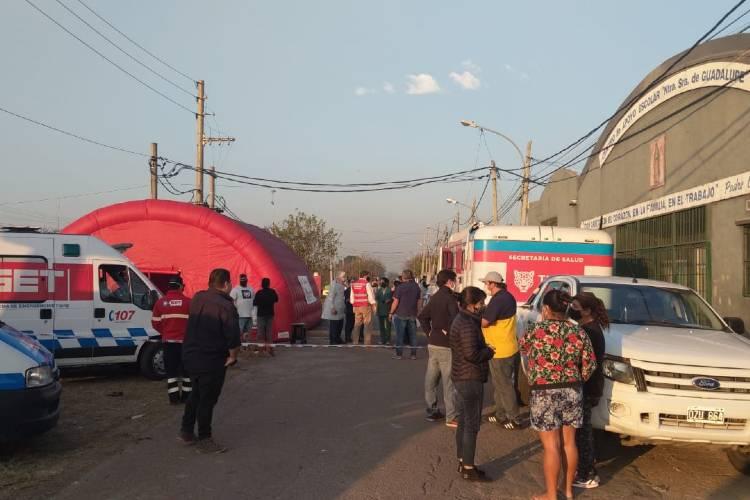 Confirman 36 casos positivos de Coronavirus en el Barrio San Jorge de Tigre