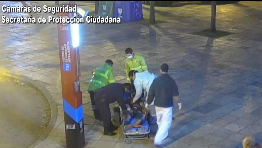 Tigre: A punto de convulsionar, pidió asistencia desde un tótem de seguridad