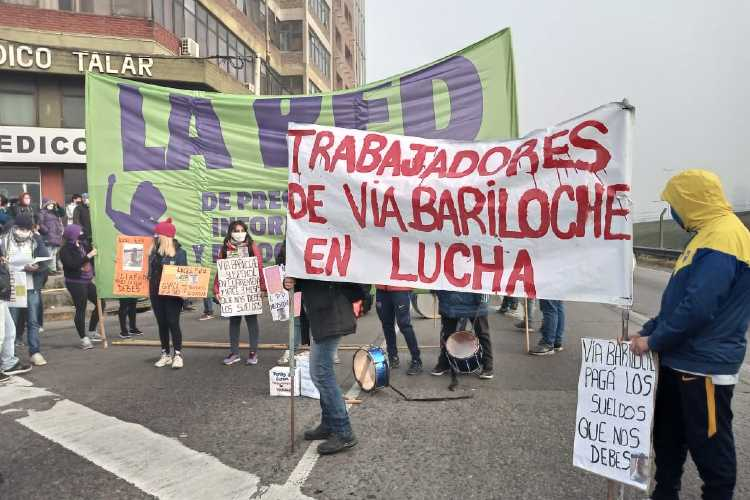 Trabajadores Precarizados cortaron la colectora de Panamericana y 197 en reclamo de mejoras laborales