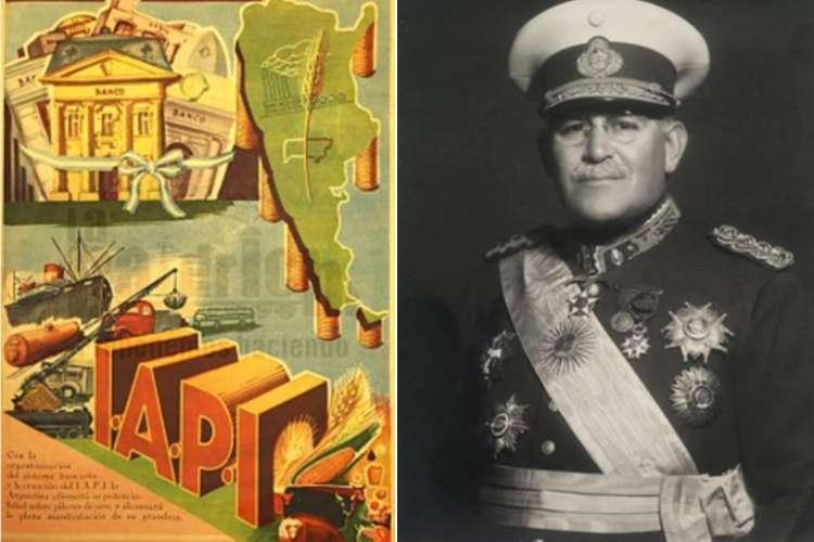 Las Juntas de Justo, el IAPI de Perón y la expropiación de Fernández