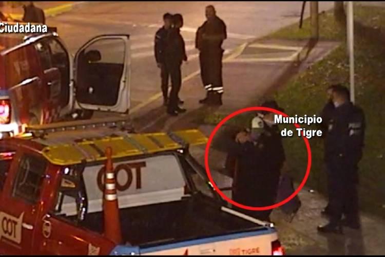 Las Cámaras de Tigre lo filmaron robando en una escuela de General Pacheco y fue detenido