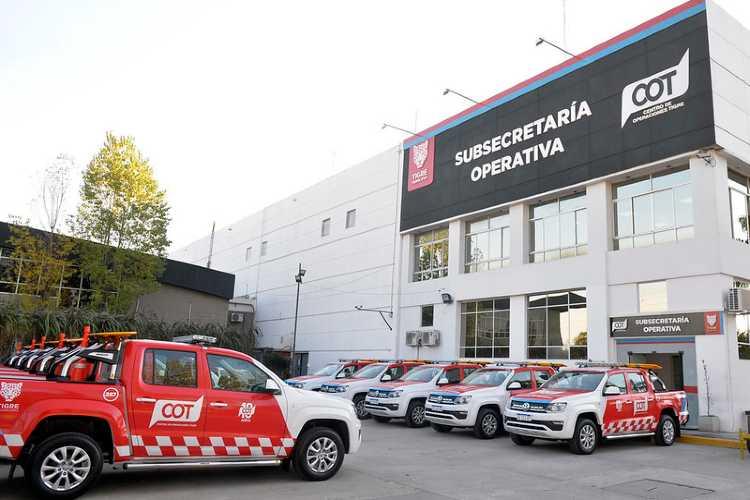 Tigre incorporó nuevos móviles a su Sistema de Protección Ciudadana