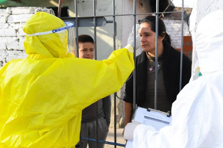 Más barrios de San Fernando recibieron los operativos de detección de coronavirus