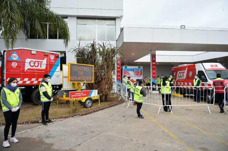 Veintisiete vecinos del barrio San Jorge de Tigre superaron el coronavirus y pudieron volver a sus casas