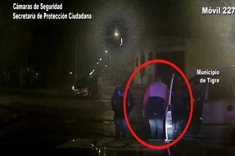 Tigre: Alcoholizado perdió el control de su vehículo y chocó contra una columna