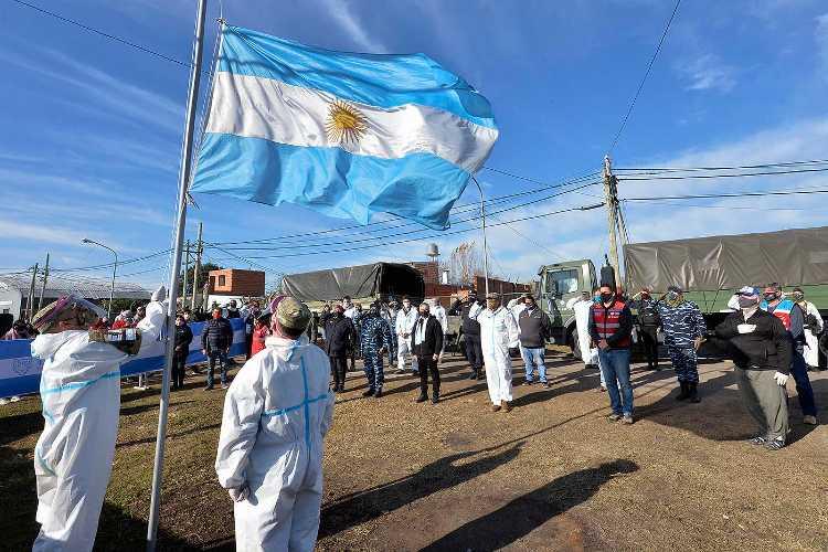Tigre y el Ejército Argentino conmemoraron el bicentenario del paso a la inmortalidad de Belgrano