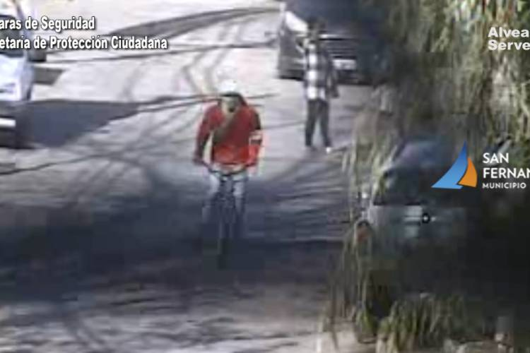 Robó un celular en San Fernando y escapó en bicicleta pero lo detuvieron