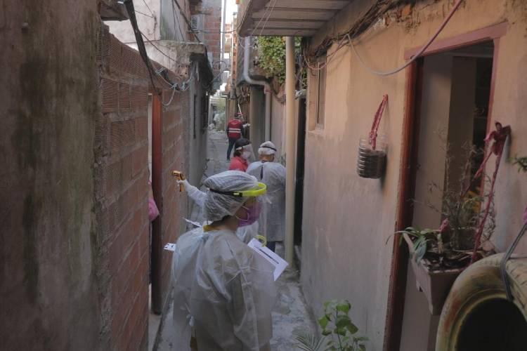 Tigre lleva relevados 18.000 vecinos en busca de casos sospechosos de COVID-19