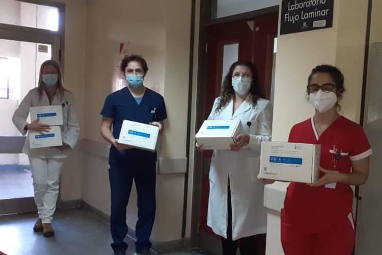 test de diagnóstico rápido de coronavirus