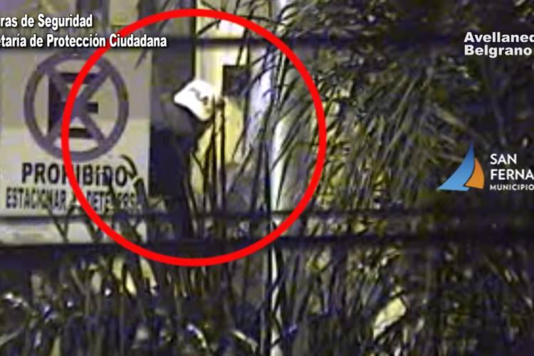 San Fernando: las Cámaras permitieron la detención de dos ladrones que intentaron entrar a un comercio